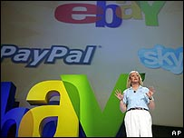 Meg Whitman, eBay chief executive