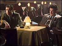 Jude Law and Sean Penn in All the King's Men