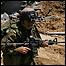 Israeli soldier in Gaza