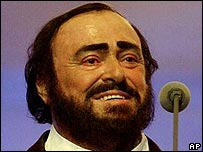 Luciano Pavarotti, 2001
