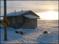 Ice hut (BBC)