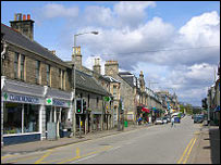 Grantown on Spey. Picture courtesy of Undiscovered Scotland