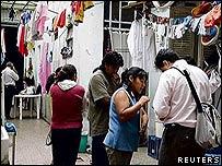 Centro textil en Buenos Aires