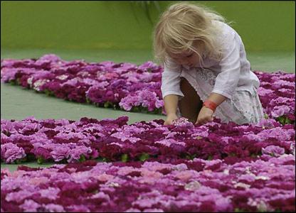 A girl in Regent's Park