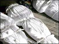 Bodies after the Haditha killings
