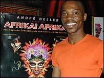 Thabo Tolo, assistant choreographer for Afrika! Afrika!