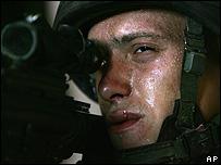 Un soldado israelí.