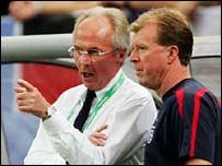 Sven-Goran Eriksson and Steve McClaren