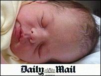 Patricia Rashbrook's baby