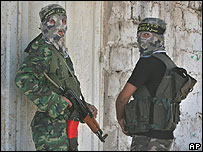Insurgentes palestinos.