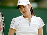 Belgium's Justine Henin-Hardenne