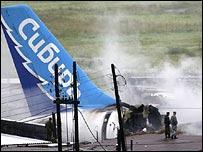Crash site in Siberia