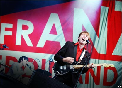 "Franz Ferdinand promised fans an ""exciting rock and roll show"""