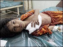 Child wounded in Jihad attack, 9 July 2006