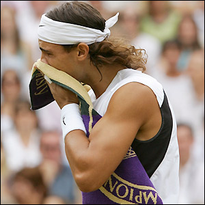 Nadal pauses to reflect