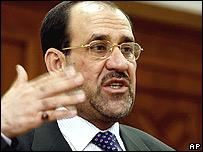 Primer ministro iraquí, Nuri al-Maliki.