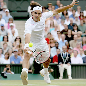 Federer dominates the fourth set and opens a 5-1 lead