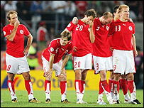 Switzerland take three terrible penalties and bow out