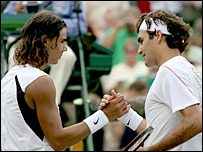 Nadal and Federer have the greatest respect for each other