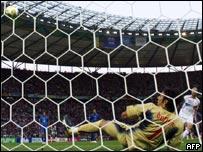 Gol de penal de Zidane