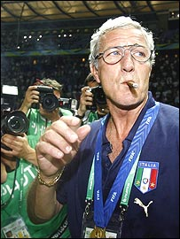 Italy coach Marcelo Lippi