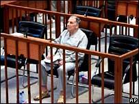 Ali Daeem Ali in the Baghdad courtroom