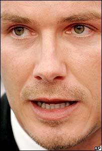 Beckham's tears