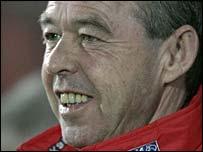 Wales Under-19 manager Brian Flynn