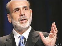 Ben Bernanke, presidente de la FED.
