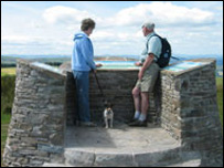 Part of the Kerry Ridgeway walk (picture: Powys Council)