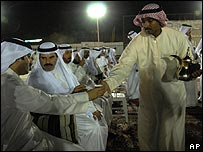 Kuwaiti politicians celebrate results of election