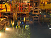Nuclear waste reprocessing at Sellafield