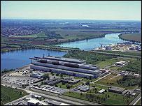 Areva nuclear plant