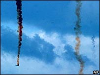 India's Geosynchronous Satellite Launch Vehicle spins out of control after exploding