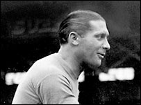World Cup winner in 1934 and 1938 Giuseppe Meazza is  revered in Italy
