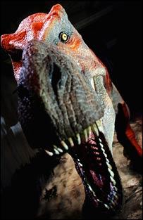 Tyrannosaurus rex  Image: PA