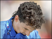 Roberto Baggio is inconsolable after his 1994 penalty shoot-out miss
