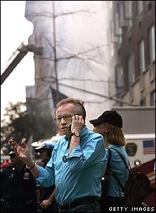 CNN TV host Larry King