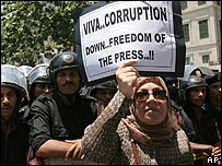 Journalists' protest (2006)