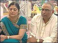 A Hindu couple