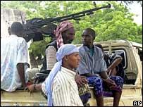 Somali battle-wagon