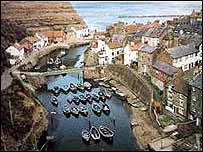 Cowbar and Staithes, North Yorkshire