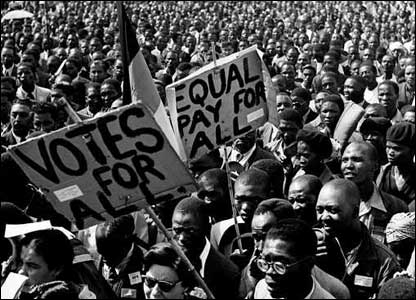 Defiance campaign march in Johannesburg