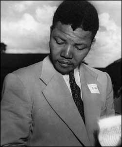 Nelson Mandela in 1951