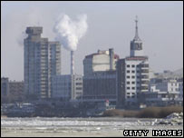 Harbin, where water supplies were cut for five days because of a chemical leak