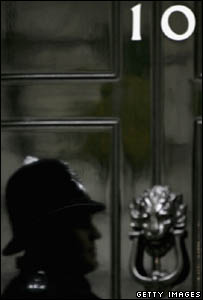 Duty police officer in Downing Street