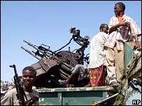 Somali gunmen