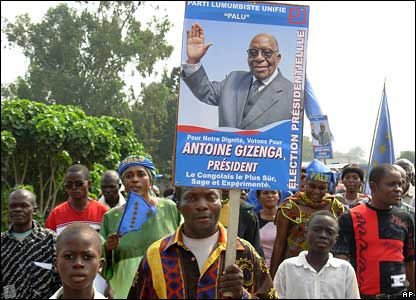 Election rally in DR Congo