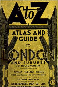 The first A-Z Map of London