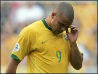 Brazil striker Ronaldo